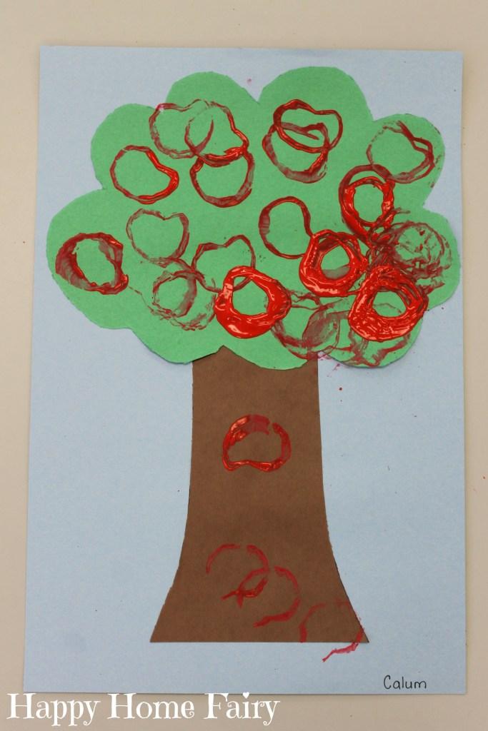 preschool apple theme ideas 1