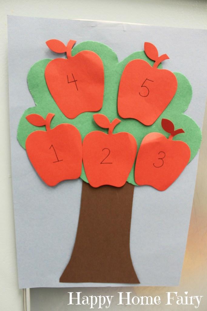 Preschool Apple Theme Happy Home Fairy