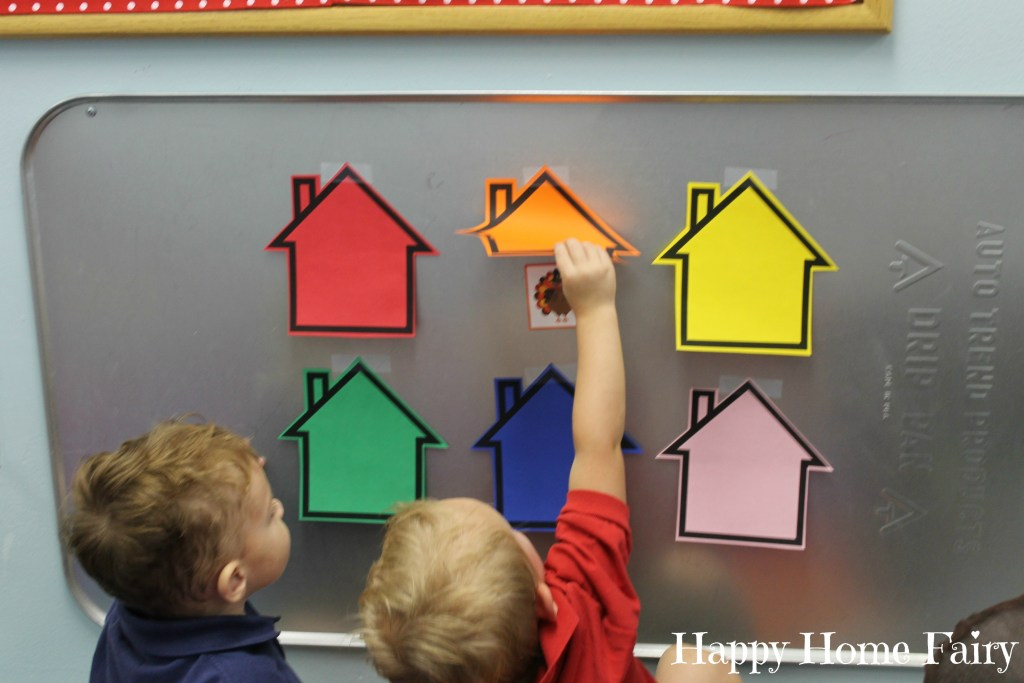 Simple Thanksgiving Color Game at Happy Home Fairy 3