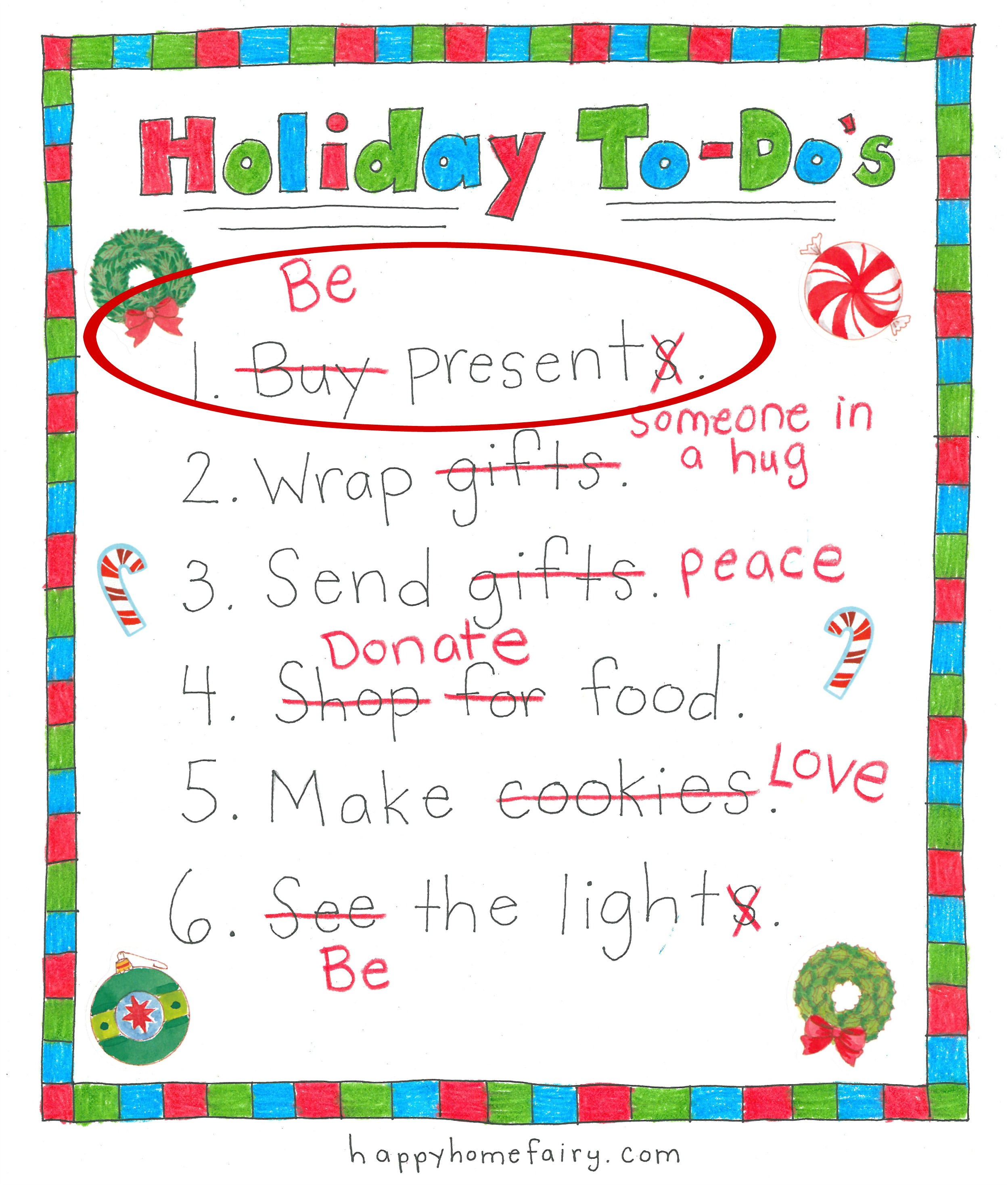 How To Have Christmas And Keep Merry Be Present Happy