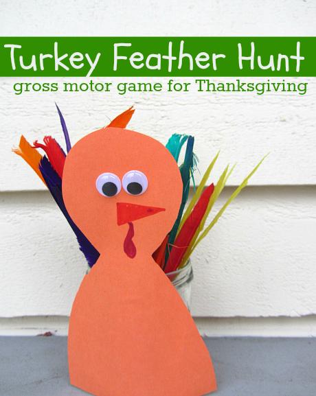 turkey feather fun