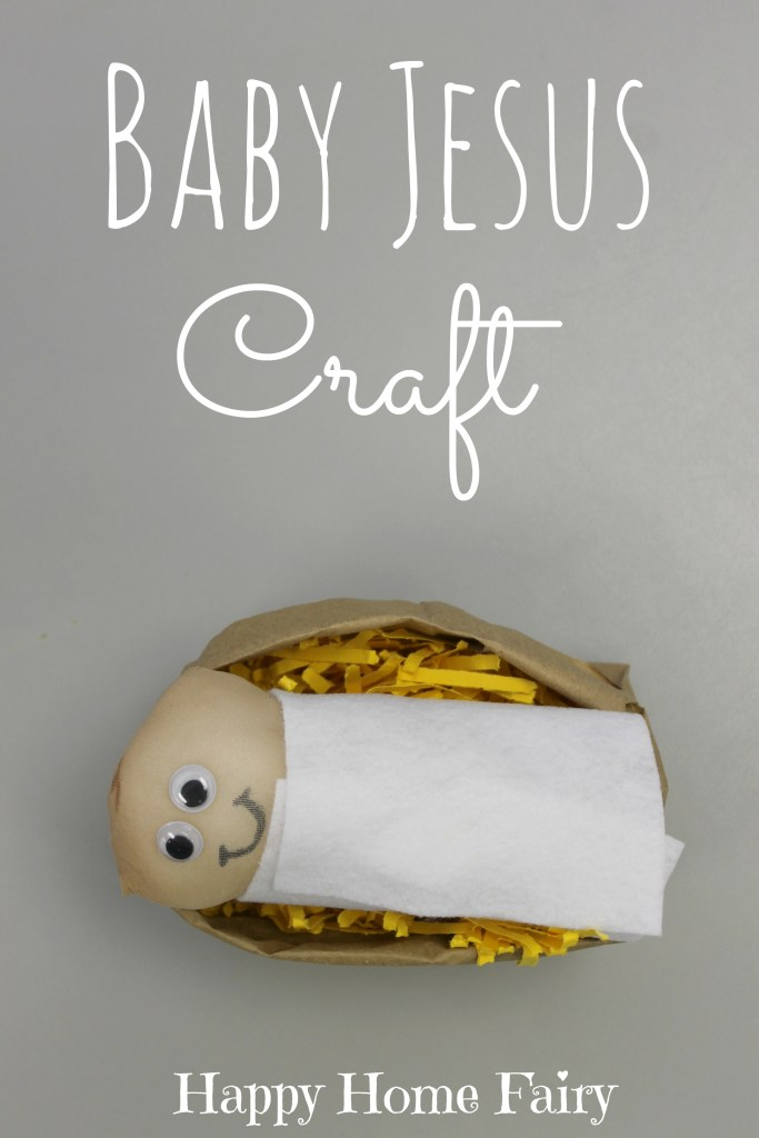 Baby Jesus Craft - LOVE this! Little doll is made out of a pantyhose! My preschoolers will have so much fun with this!