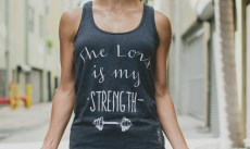 Clothed in Strength Workout Tank GIVEAWAY