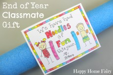Cute Student Gift for the Last Day of School – FREE Printable!
