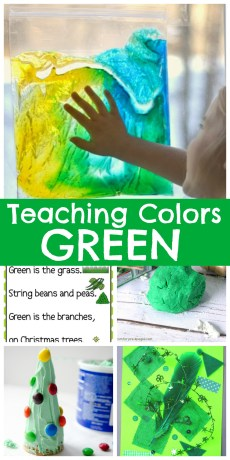 Teaching Colors – Green