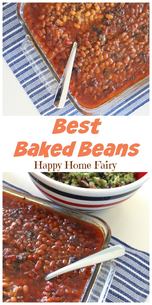 Best Baked Beans at Happy Home Fairy!