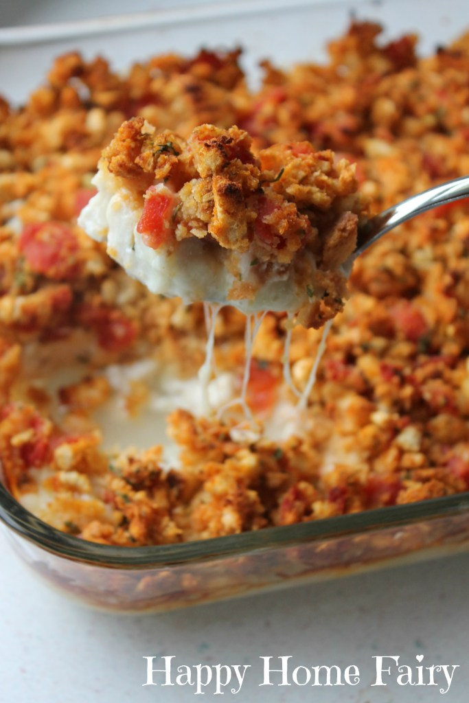 Chicken Bruschetta Bake - absolutely delicious and SO EASY to make!!
