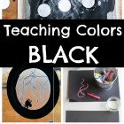 Teaching Colors to Preschoolers - BLACK