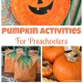 Easy Pumpkin Activities For Preschoolers Happy Home Fairy