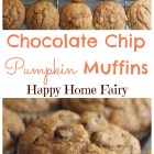 chocolate-chip-pumpkin-muffins-at-happy-home-fairy