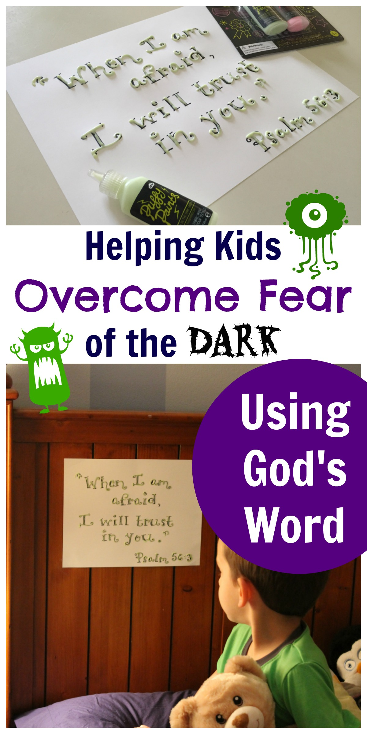 Helping Kids Overcome Fear Of The Dark Using God S Word