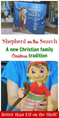 Shepherd on the Search – NEW Christ-Centered Christmas Tradition!