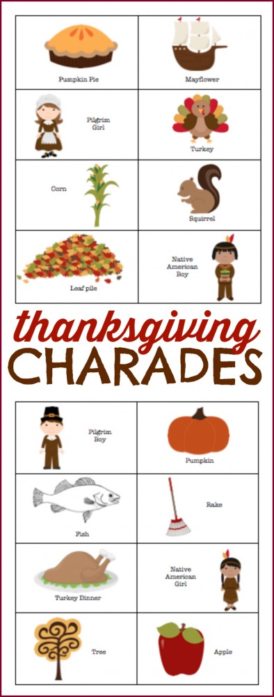 picture relating to Free Printable Thanksgiving Games for Adults known as 12 Enjoyable Thanksgiving Online games - Delighted House Fairy
