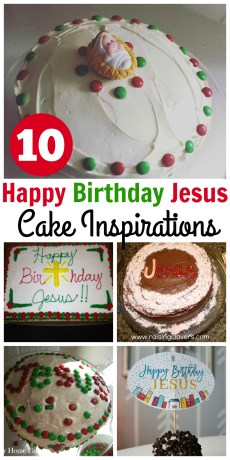 Happy Birthday Jesus Cake Ideas