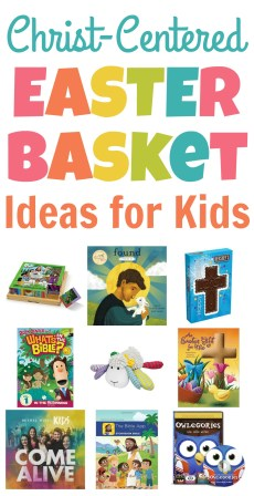 Christ-Centered Easter Basket Ideas