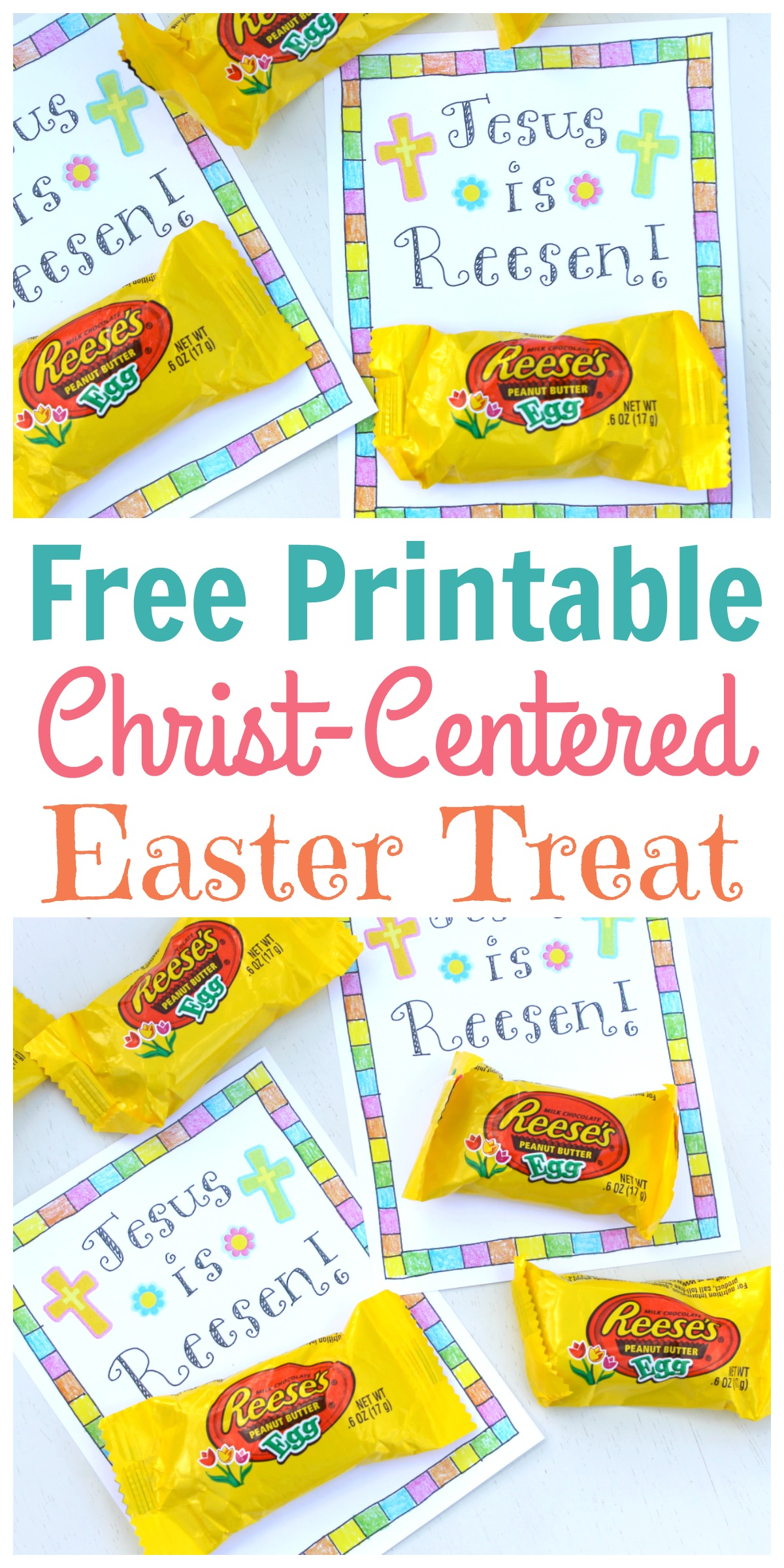 Christ Centered Easter Treat Tag