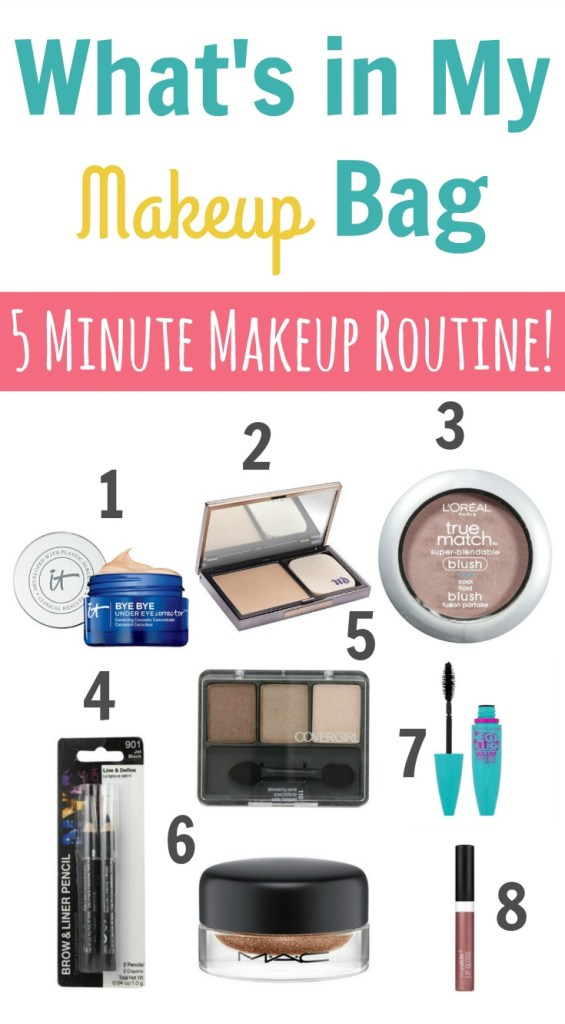 My Everyday Makeup Routine Only 5 Minutes Happy Home Fairy