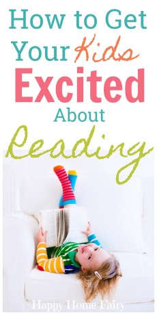 How to Get Your Kids Excited About Reading