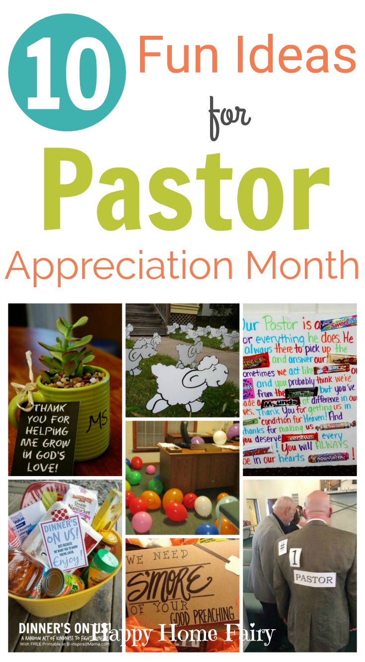 10 Fun Ideas For Pastor Appreciation Month Happy Home Fairy