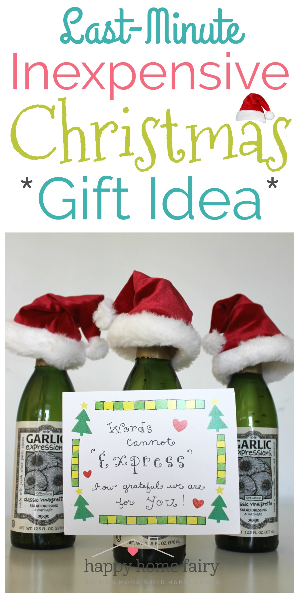 Last-Minute Inexpensive Christmas Gift Idea - FREE Printable - Happy ...