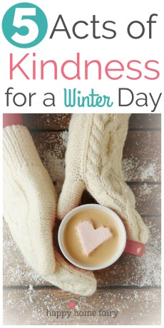 5 Acts of Kindness for a Winter Day