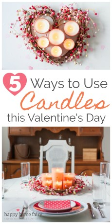 5 Ways to Use Candles this Valentine's Day