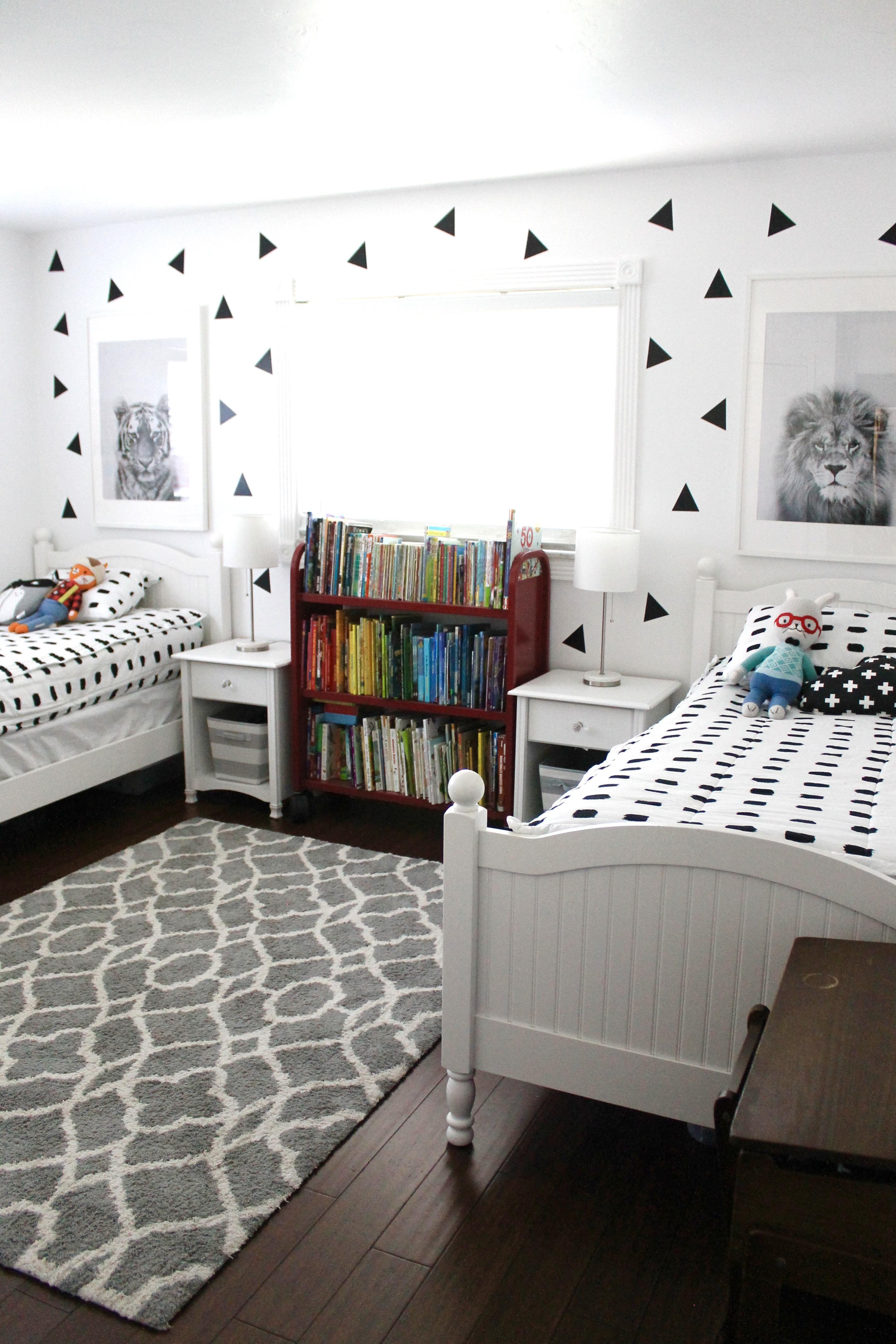 Shared Bedroom Ideas For Boys Happy Home Fairy