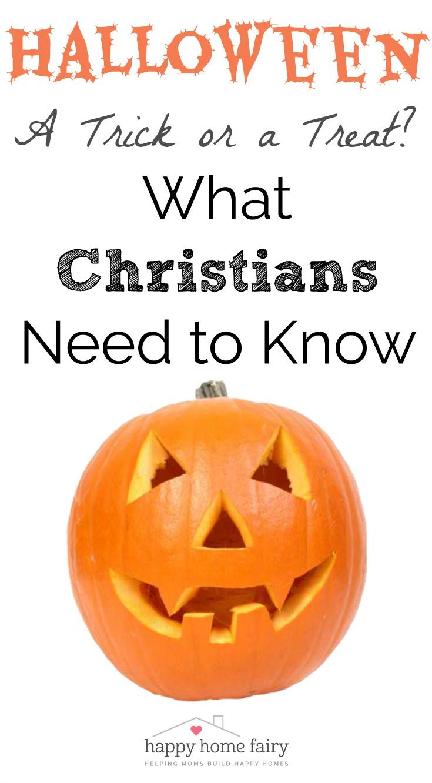 HALLOWEEN - SHOULD CHRISTIANS PARTICIPATE?