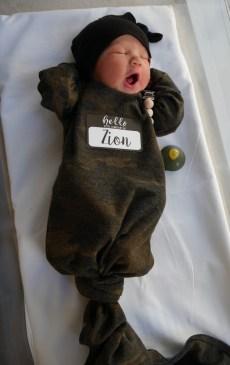 Birth Announcement: Zion Theophilus Brasington