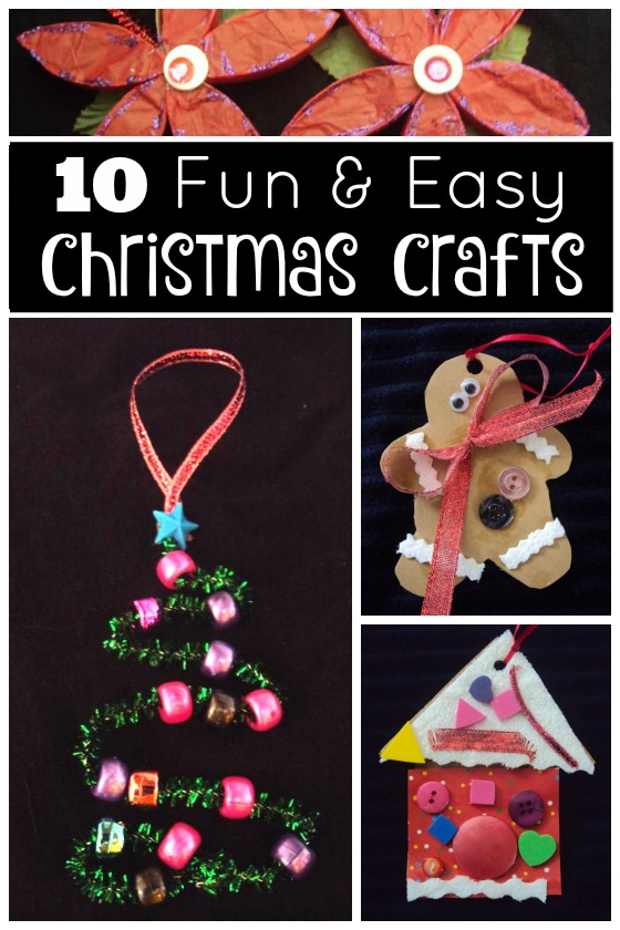 Easy Christmas Ornaments Crafts