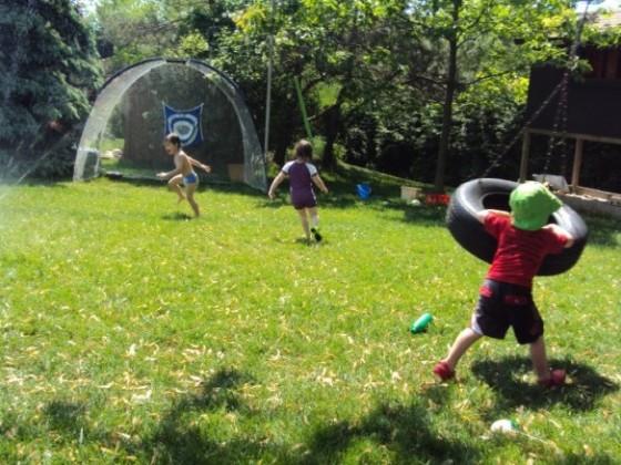 backyard play ideas for