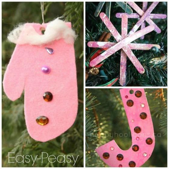 Easy Handmade Christmas Decorations