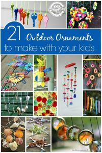21 Outdoor Ornaments for Kids to Make - Happy Hooligans