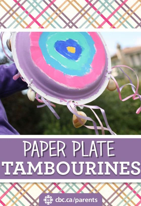 Paper Plate Tambourines for Kids to Make and Play  Happy Hooligans