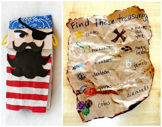 pirate paper bag crafts copy