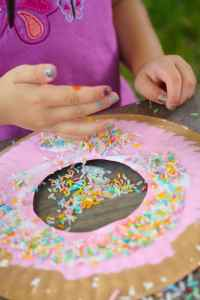 Paper Plate Donut Craft for Kids - Happy Hooligans