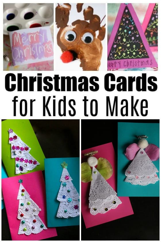 homemade christmas cards for