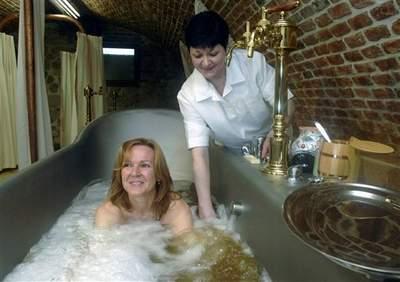 Beer Bathing