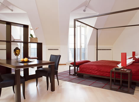 Suite with a Vault in Vienna