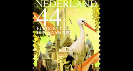 The Hague Post Stamp