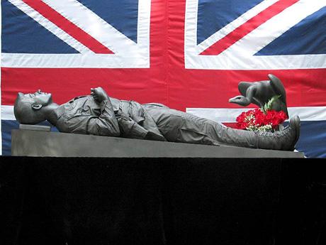 Iraq War Memorial Prince Harry