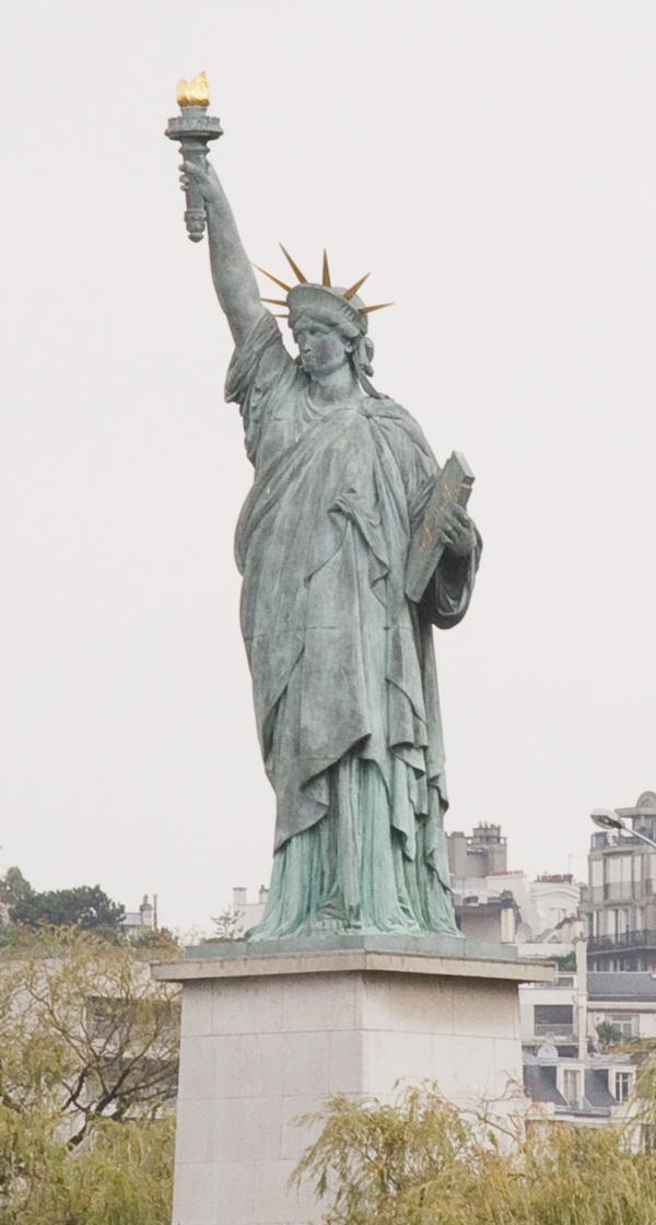 Paris Replica of the Statue of Liberty
