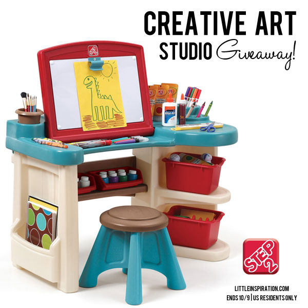 Step2 Creative Art Studio Giveaway!  Happy Hour Projects