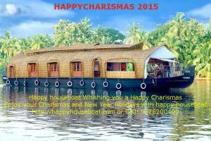 happy chrismas houseboat