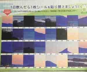 カネカのコエンザイムQ10についてきたカレンダー表
