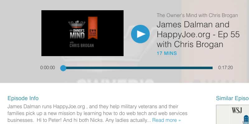 Chris Brogan Interviews James Dalman