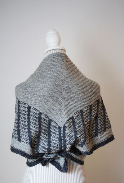 Metalouse shawl - back