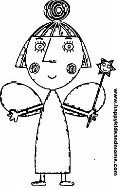 Ben Holly Little Kingdom Coloring Pages