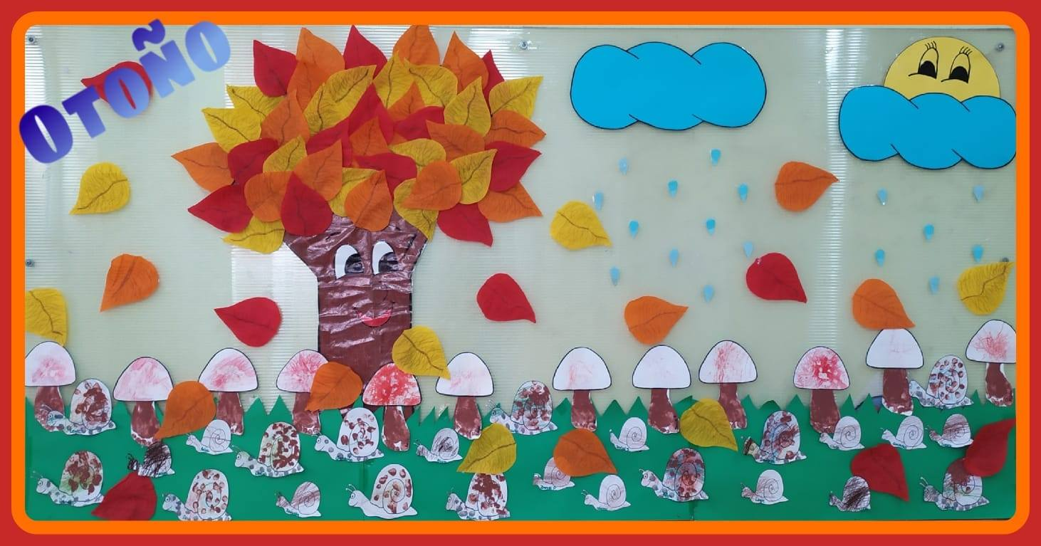 blog happy kids house 12 - Manualidad Mural Otoño
