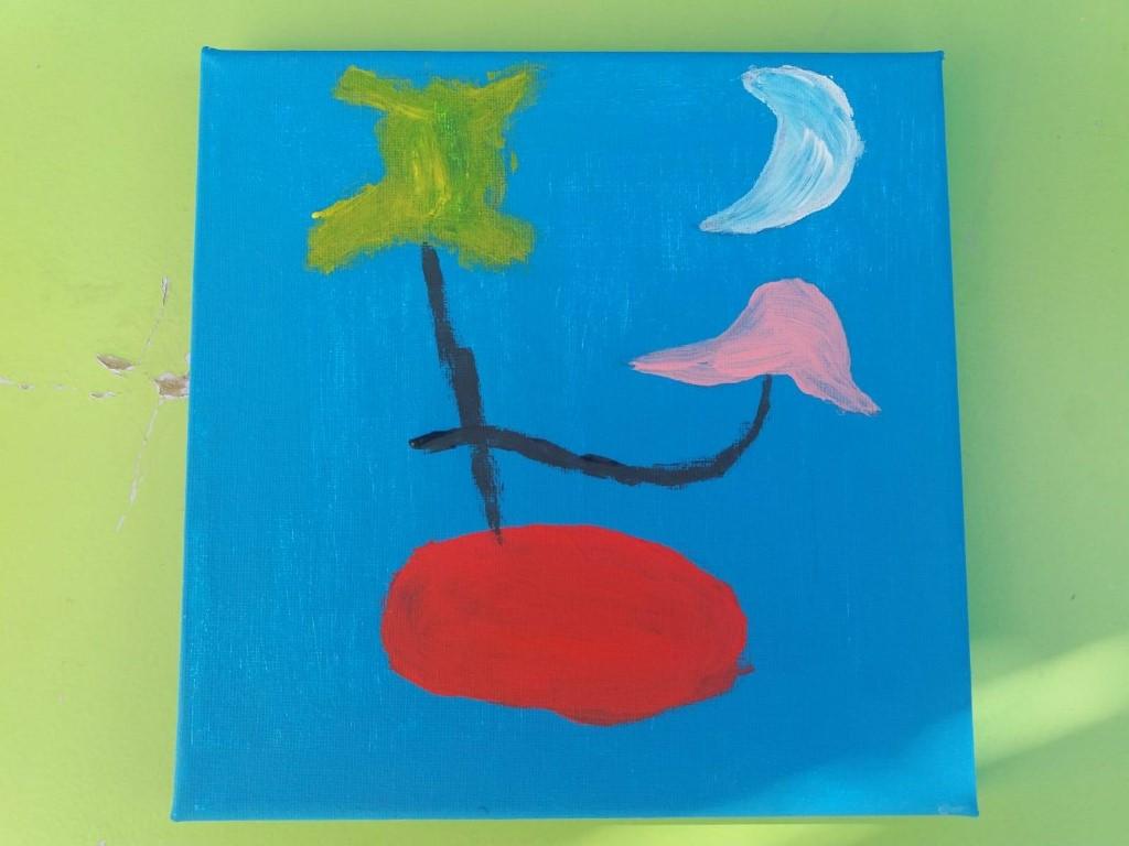 blog happy kids house 5 - Manualidad Miró